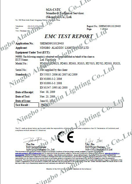 CE Test Report