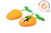 Colorful Silicone carrot Key case & key bags in Promo