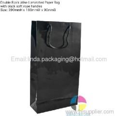 Blace Wine Colors Bag
