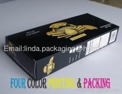 Frozen Seafood packaging Box exporter