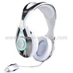 Monster Game T1 Daft Punk Headphones in White