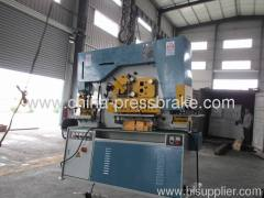 hydraulic notching and punching machine
