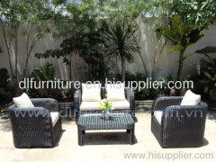 Rattan Furniture Wicker Sofa