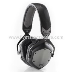 V-Moda Crossfade LP Headphones in Gunmetal Black
