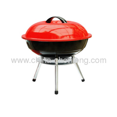 portable charcoal kettle BBQ grills