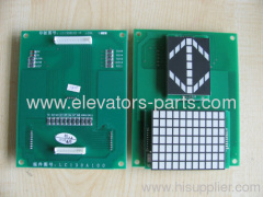 Mitsubshi LC130B101-A lift parts PCB good quality