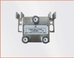 CE approved 1 in 2 out 2-WAY SPLITTER