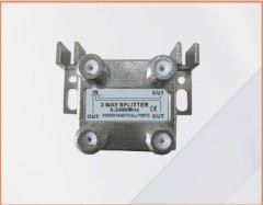 CE Certifcated 1 IN 3 OUT 3-WAY SPLITTER