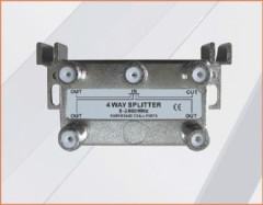 CE APPROVED 1 IN 4 OUT 33-3G4W-A/B 4-WAY SPLITTER