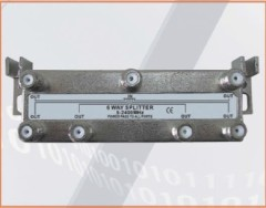 CE approved 1 in 6 OUT 6-WAY SPLITTER