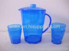 5packs blue plastic pitchers