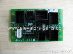 Mitsubshi Elevator Parts DOR-565A Mitsubshi lift parts PCB good quality