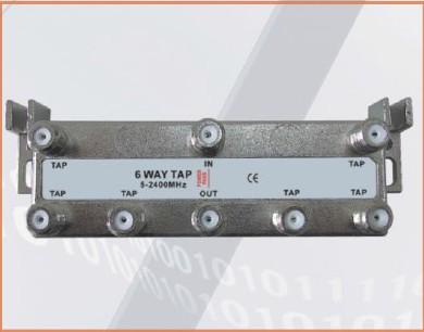 15-25dB Tap Loss 33-3G6T 6-way tap