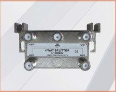 5-1000MHZ LOTTECK 33-1G4W-N/B 4-WAY SPLITTER