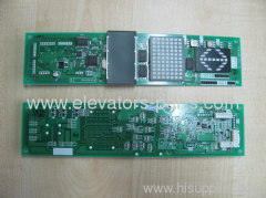 Mitsubishi LHH-1005DG21 display panel pcb
