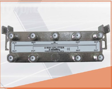 9.5-12dB Insertion Loss1IN 8OUT 8-WAY SPLITTER