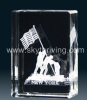 K9 3D crystal laser
