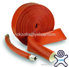 silicone coated fiberglass sleeve