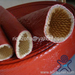 red silicone fire sleeve