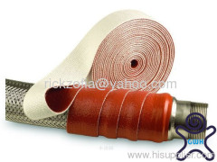 silicone coated fiberglass winding belt