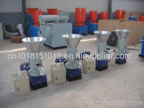 wood pelelt mill granulator and pellet production machine