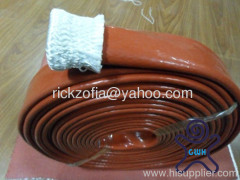 Silicone coated fiberglass braided Thermal Heat Sleeving