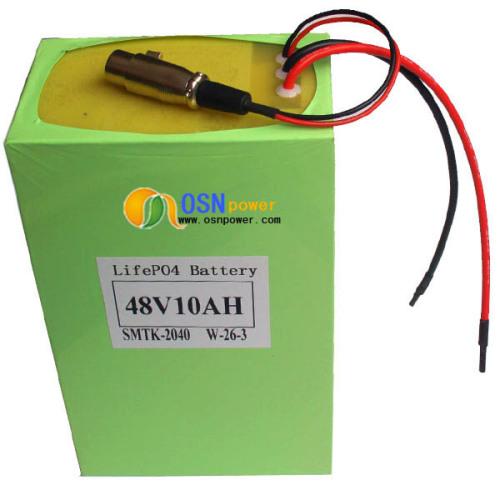 lifepo4 battery 48v 10ah