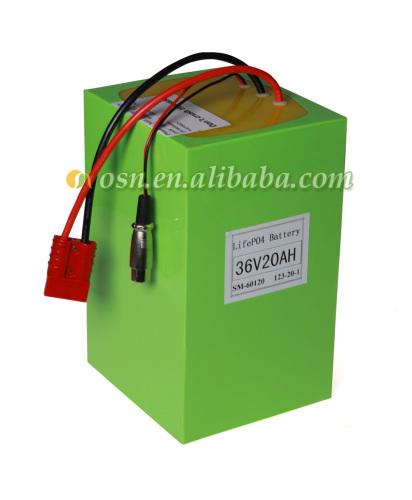 A123 Battery Pack 36V 20AH