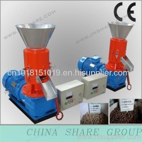 pellet press in wood pellet mill