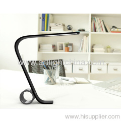 Fashionable Table Lamp with a Artistic Circle