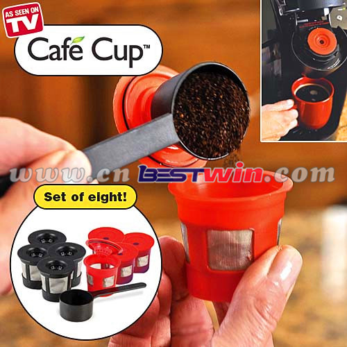 REUSABLE CAFE CUP AS SEEN ON TV