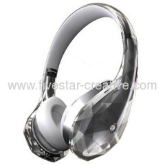 Monster Diamond Tears Edge On-Ear Headphones White