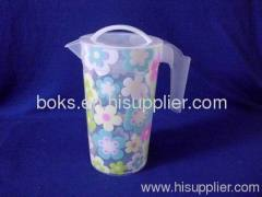 durable plastic pitcher with handle