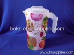 popular plastic pitcher with handle