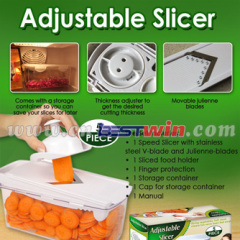 VEGETABLE ADJUSTABLE SLICER NEW