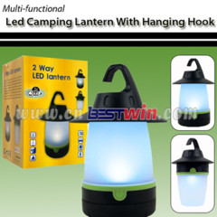 LED CAMPING LANTERN WITH HANGING HOOK