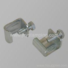 Ventilation parts -corner clamp