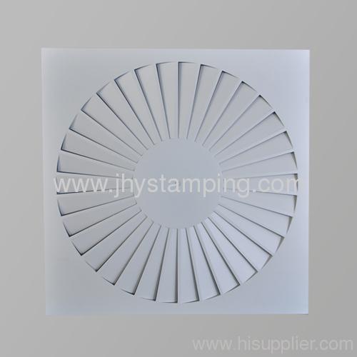 Ventilation Square Swirl diffuser