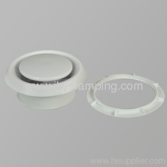 Ventilation plastic air valve