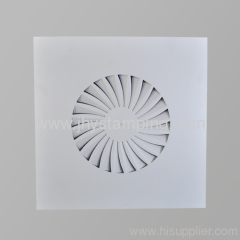 Square Ceiling diffuser made of Spcc