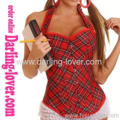 Fashion Sexy Lady Stripe Corset