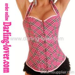 New Sexy Lady Fashion Stripe Corset