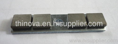 sinter NdFeB Magnet injection molding and assembly