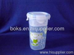 plastic water cup with lid