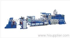 PE Geosynthetics Machine Production line