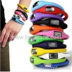 Fashion Sports Silicon Rubber brcelects watches Jelly watch