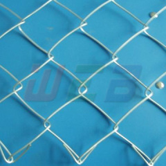 Knuckle chain link fence