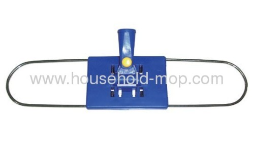 Professional Plastic Mop Frame with Universal Handle Commer