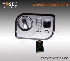 Huella digital de bloqueo de seguridad biométrica con códigos digitales