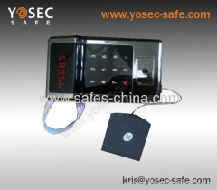 Touch screen safe lock for hotel safe E-8110T